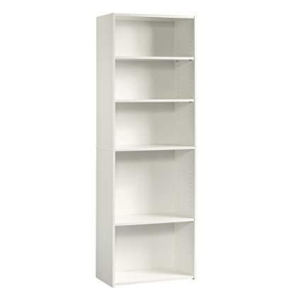 Amazon.com: Sauder 415542 Beginnings 5-Shelf Bookcase, L: 24.57