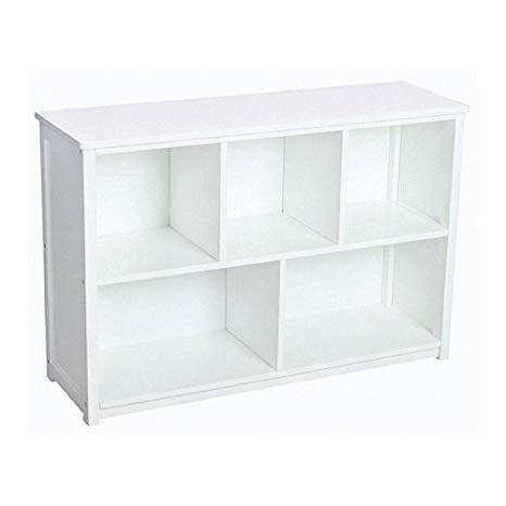 Amazon.com: Guidecraft Classic White Bookshelf: Classroom Book Rack