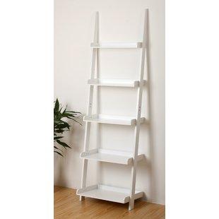 Distressed White Bookshelf | Wayfair