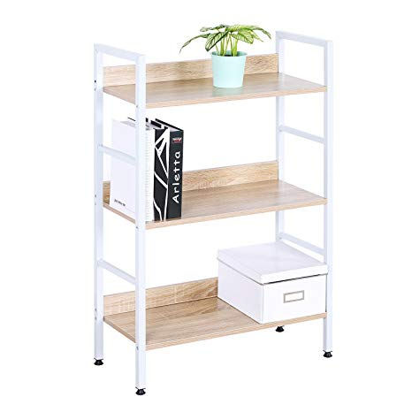 Amazon.com: WOLTU White Bookshelf Wood Beautiful Bookcase Small