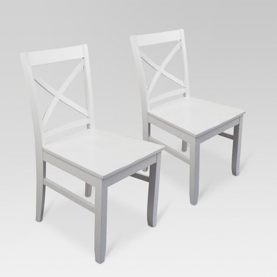 Carey Dining Chair - White (Set Of 2) - Threshold™ : Target