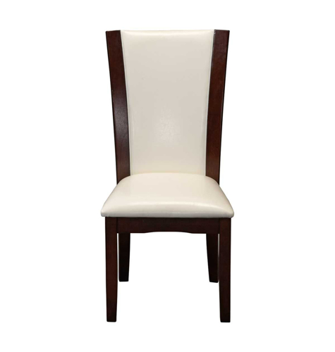 SOUTH BEACH WHITE DINING CHAIR | Badcock &more