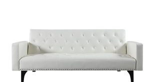White Convertible Sofas You'll Love | Wayfair