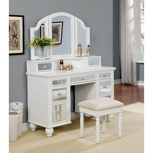 White Vanity Tables You'll Love | Wayfair