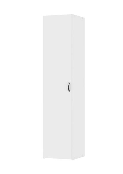 Amazon.com: Tvilum 704364949 Space Wardrobe with 1 Door White