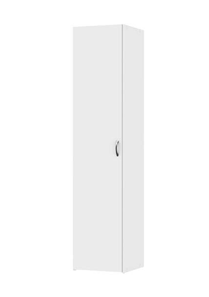 Amazon.com: Tvilum 704364949 Space Wardrobe with 1 Door White