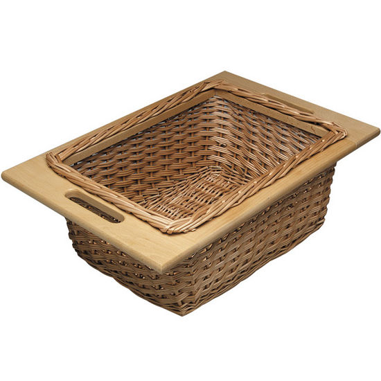 Hafele Pull-Out Wicker Baskets For 15'' or 18