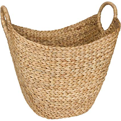 Amazon.com: Seagrass Storage Basket by West Dwelling - Large Water