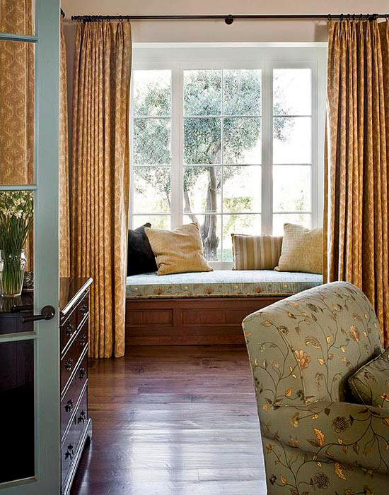 Bedroom Decorating Ideas: Window Treatments | Traditional Home
