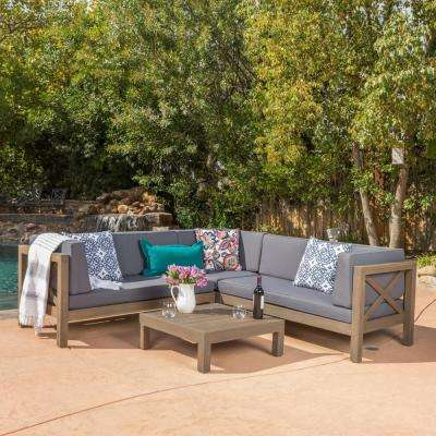 Wood - Noble House - Patio Furniture - Outdoors - The Home Depot