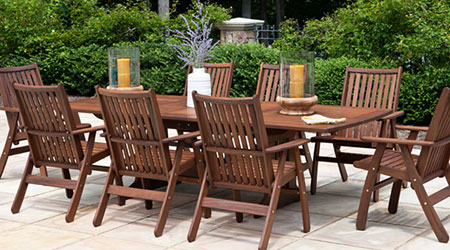 Jensen Leisure® Wood Furniture - Patio Land USA