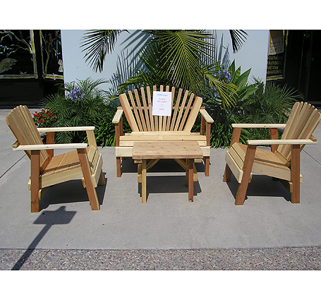 Wood Patio Furniture | Sacred Space Imports