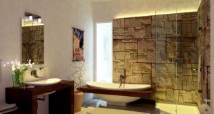 Wooden bathroom design u2013 Ideas for Rustic Bathroom | Interior Design