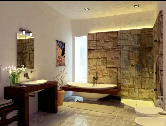 Wooden bathroom furniture   ideas fabulous nowadays