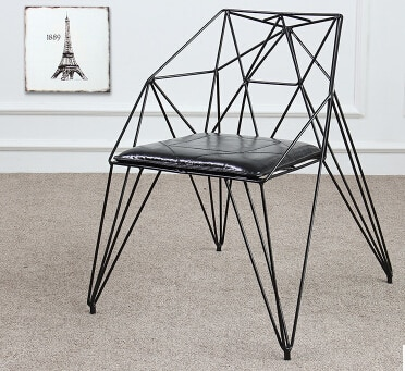 Eat chair diamond hollow out wire chairs. Loft design furniture