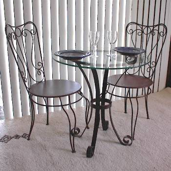 Wrought iron furniture indoor for style u2013 BlogAlways