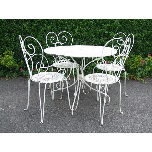 Characteristics of Wrought   Iron Furniture