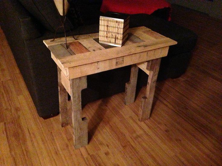 Homemade side table