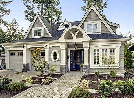 Plan 23477JD: Unique Cottage with Loads of Character