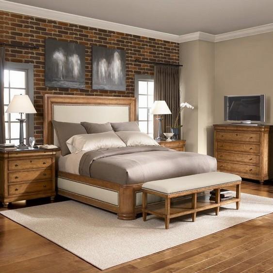 Bedroom chest bench