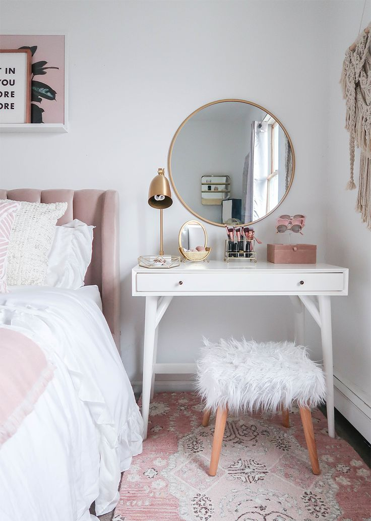 Styling A Vanity In A Small Space