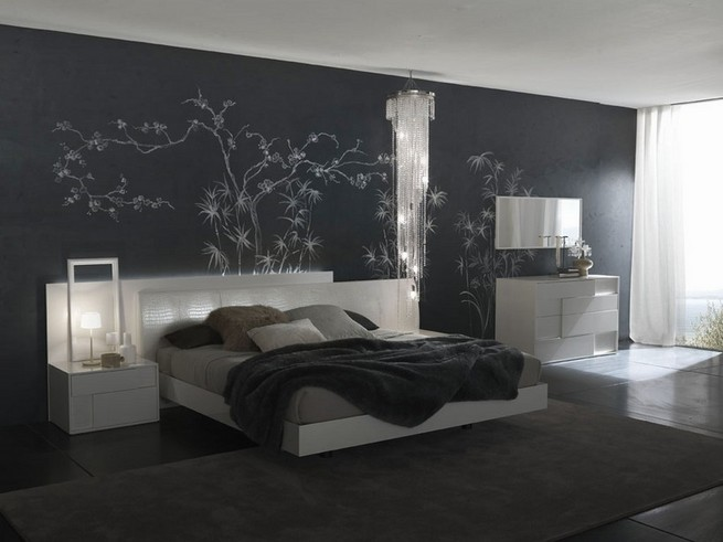 Bedroom color ideas with accent wall