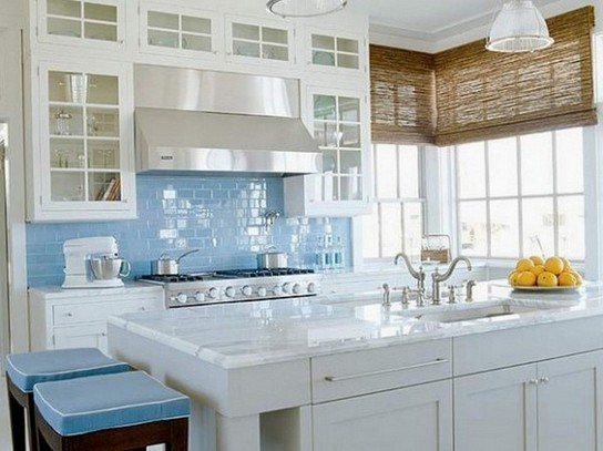 Window treatments for small kitchens