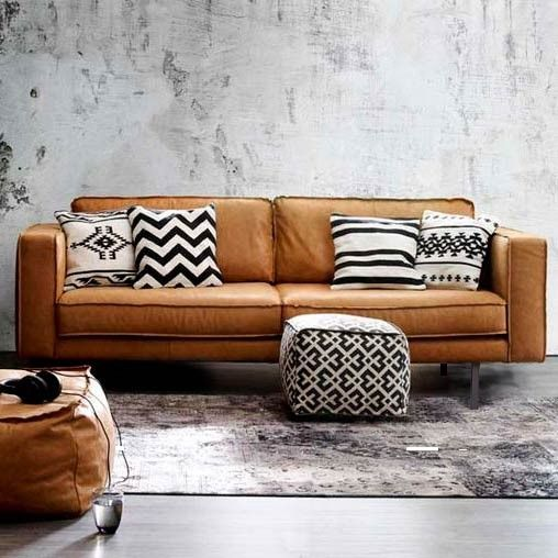 Leather Sectional Sofas for Modern Living Room