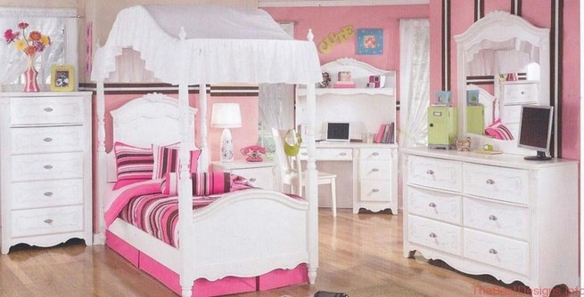 Four poster bed sets for girls