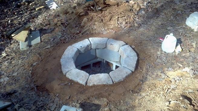 Cinder block fire pits ideas