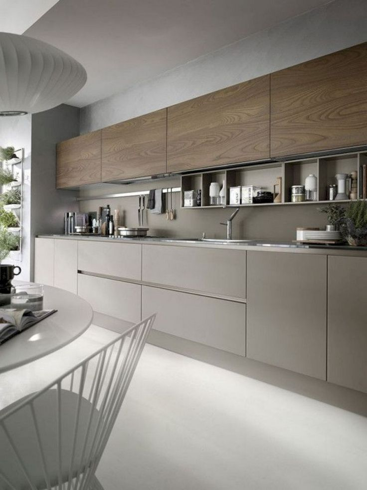 57 Amazing Contemporary Kitchen Cabinets Remodel Ideas