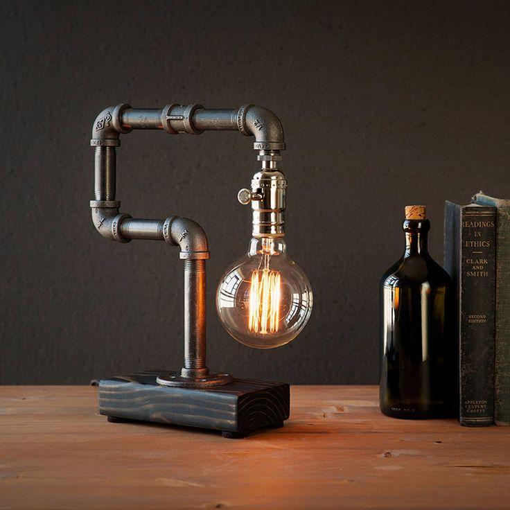 KOZO LAMP: piping upcycled by Kozo
