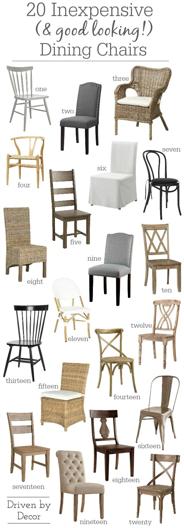 15 Inexpensive Dining Chairs (That Don't Look Cheap!)