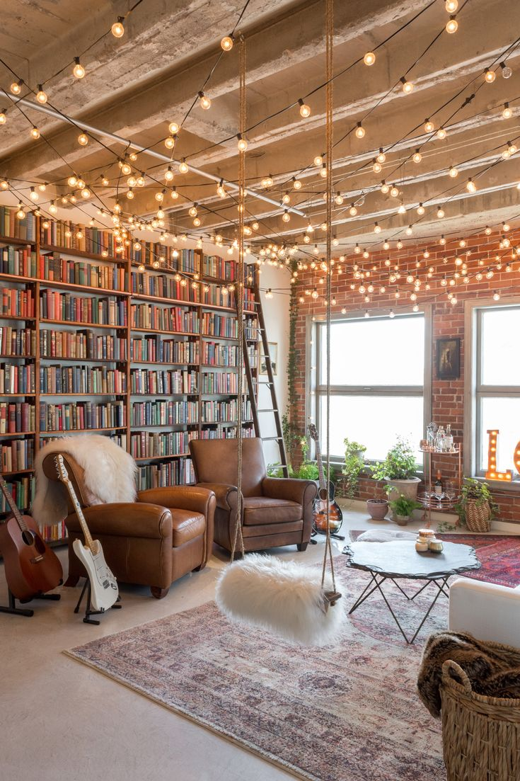 An Artsy Downtown Loft in LA Bursting with Books