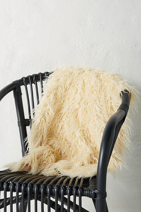 Faux-Sheepskin Rug