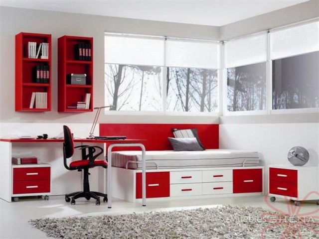 Ideas for the wall in the teenage bedroom