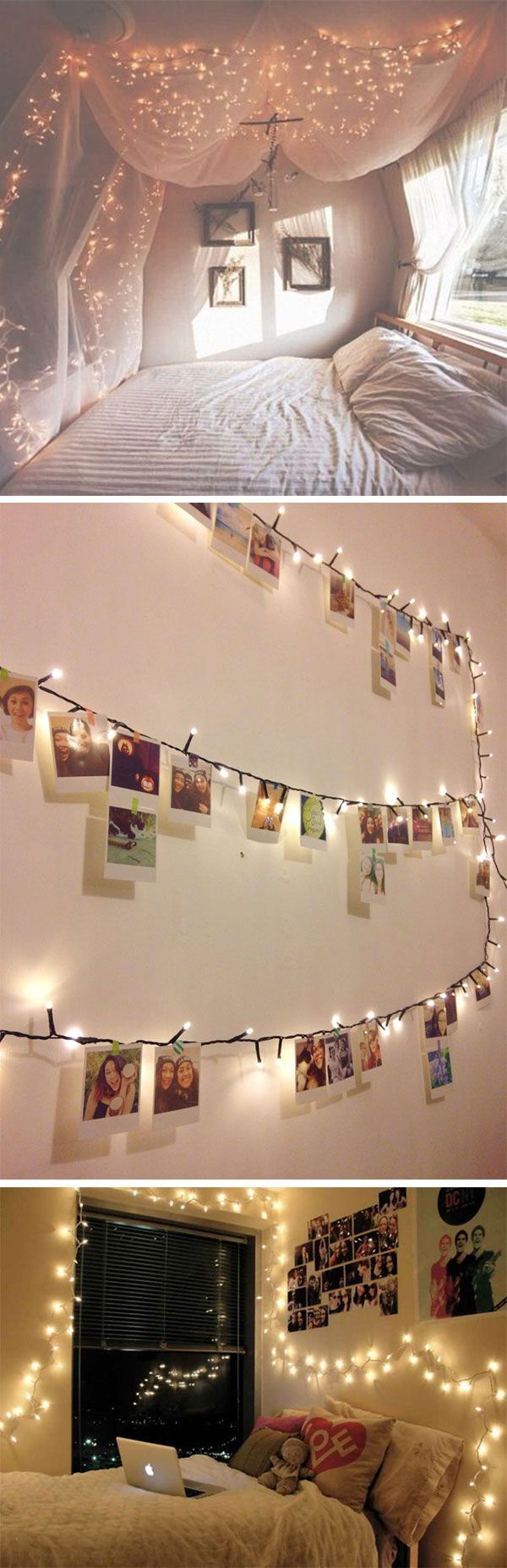 13 ways to use fairy lights and make your bedroom look magical