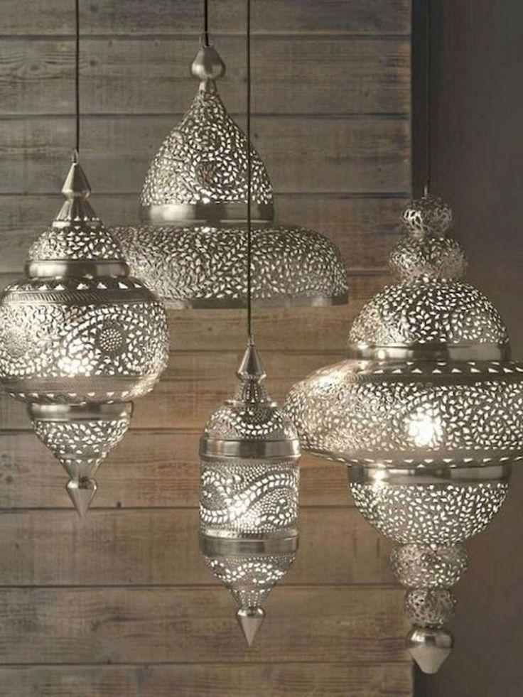65+ Amazing DIY & Design Recycled Lamps Decor Ideas