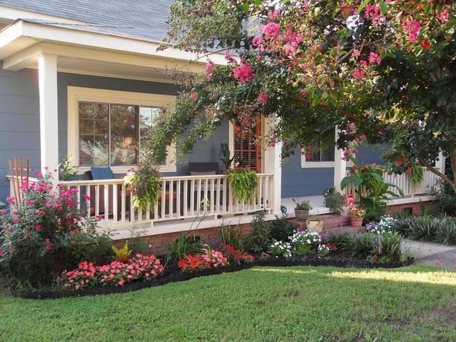 Garden ideas in the front yard