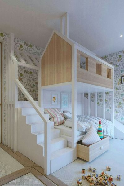 15 Bed Selections for Kids Room Design