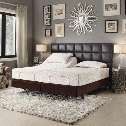 Adjustable king size bed