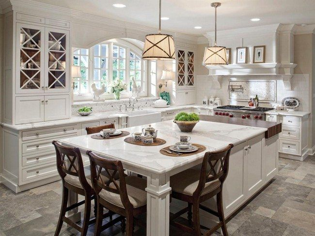 30+ Unique Kitchen Island Designs