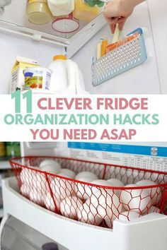 11 GENIUS Freezer & Refrigerator Organization Tips & Hacks