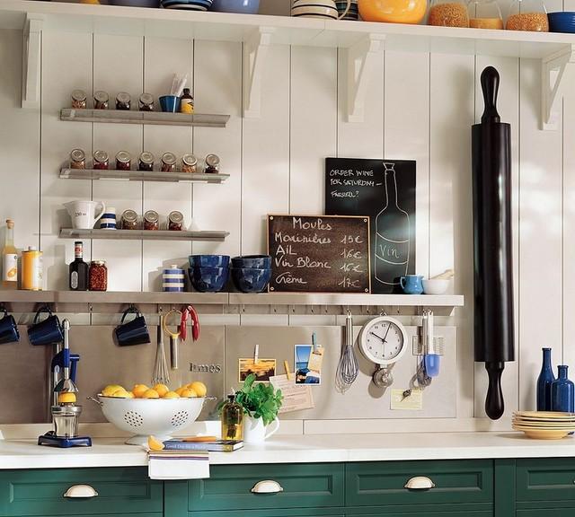 Storage ideas for kitchen appliances