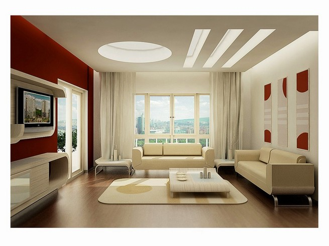 Ideas for the design of living rooms