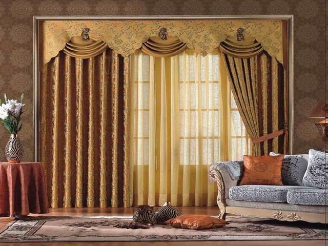 Ideas for treating living room windows