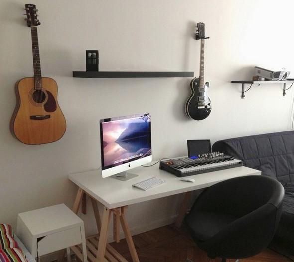 Minimalist office simply