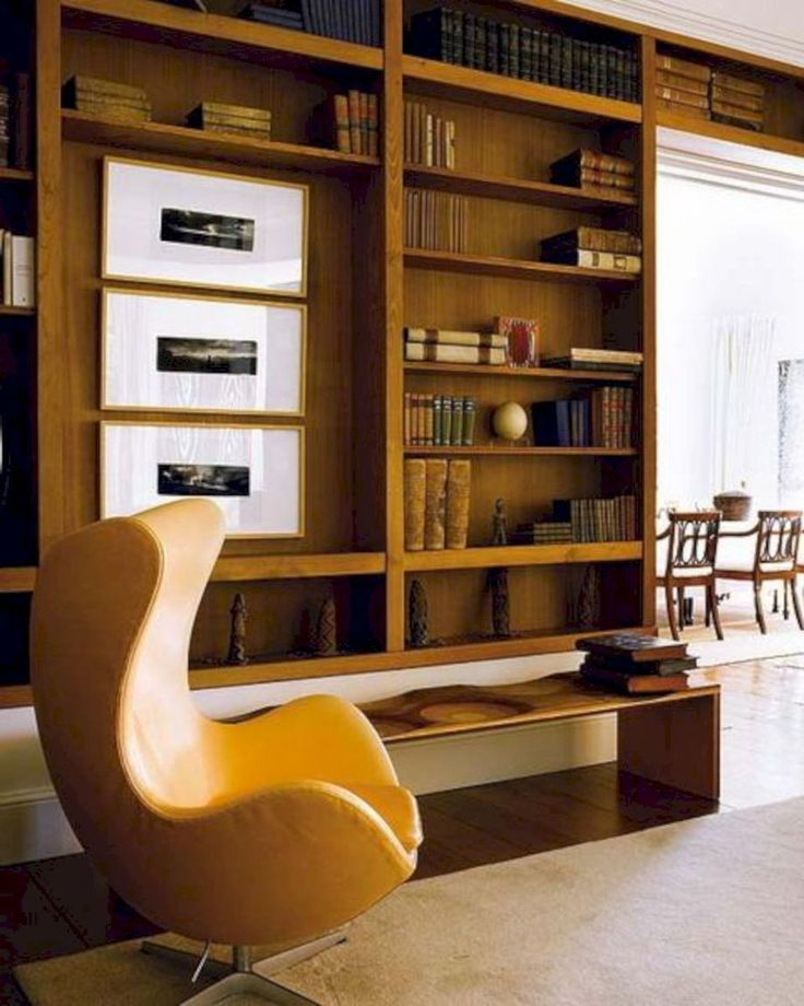 30+ Modern Mid Century Bookcase Design Ideas You Will Love