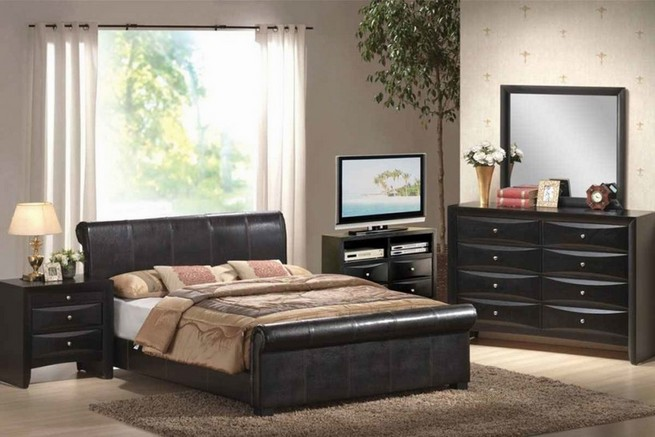Full size bedroom sets with mattress