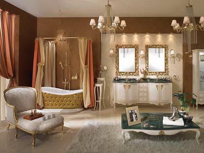 Decorate royal toilet
